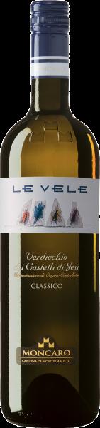 Verdicchio Castelli di Jesi DOC Class. Le Vele Moncaro Marken Weißwein trocken | Saffer's WinzerWelt