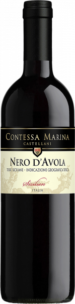 Nero d´Avola Sicilia DOC Contessa Marina
