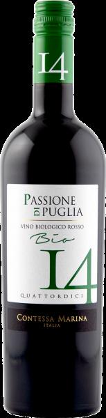 Passione di Puglia BIO Rosso IGT 14 CM
