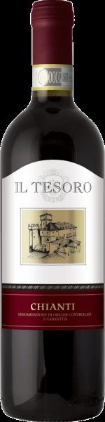 Chianti DOCG Il Tesoro Castellani Toskana Rotwein trocken | Saffer's WinzerWelt