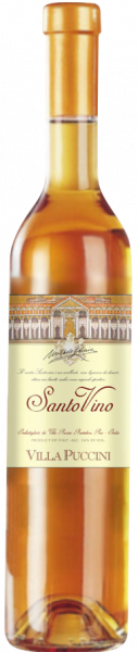 Santo Vino Vino liquoroso  0,5l Villa Puccini Toskana Süßwein   Saffer's WinzerWelt