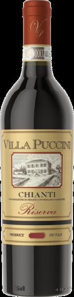 Chianti DOCG Riserva Villa Puccini Toskana Rotwein trocken   Saffer's WinzerWelt