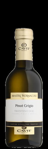 Pinot Grigio Trentino DOC Mastri Vernacoli 0,25l Cavit Trentin Weißwein kaufen münchen   Saffer's WinzerWelt