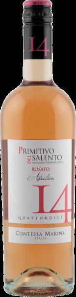 Primitivo Salento IGT Rosato 14 Contessa Marina