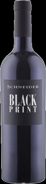 M. Schneider Black Print Rotwein Cuvée trocken QbA