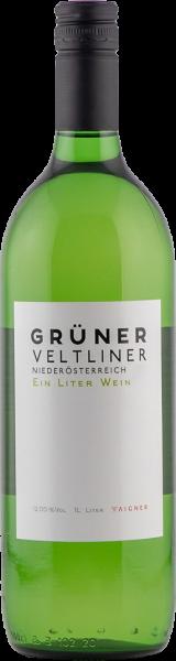 Grüner Veltliner QUW NÖ Ein Liter Wein