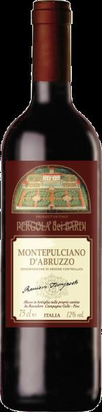 Montepulciano d´Abruzzo DOC Pergola dei Bardi