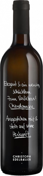 Chardonnay Kamptal QUW Bio Edelbauer  wein kaufen münchen   Saffer's WinzerWelt