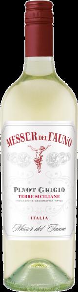 Pinot Grigio Terre Siciliane IGT Messer del Fauno Weißwein trocken   Saffer's WinzerWelt
