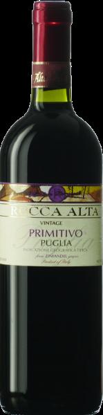 Primitivo Puglia IGT Rocca Alta