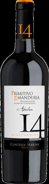 Primitivo di Manduria DOC ´14´ Contessa Marina